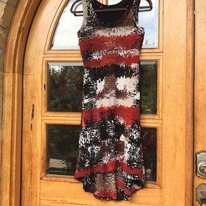 Karen Kane High Low Lined Dress.